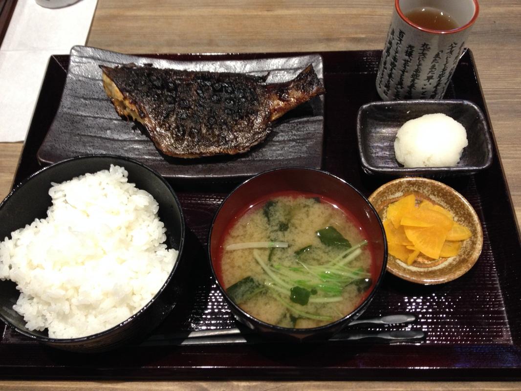 Grilled  Tsubodai(つぼ鯛)/Japanese Boarfish(Lunch:980yen)