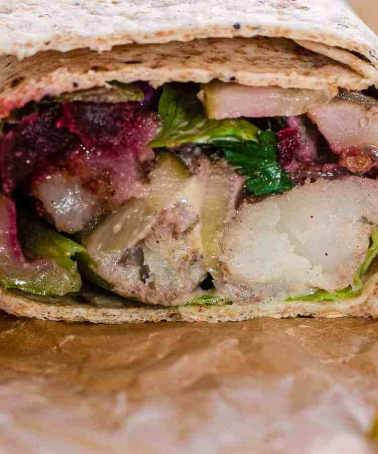 Fish shawarma
