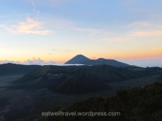 Lever du soleil Volcan Mont Bromo Java Indonésie