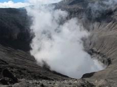 Cratère du Volcan Mont Bromo Indonésie