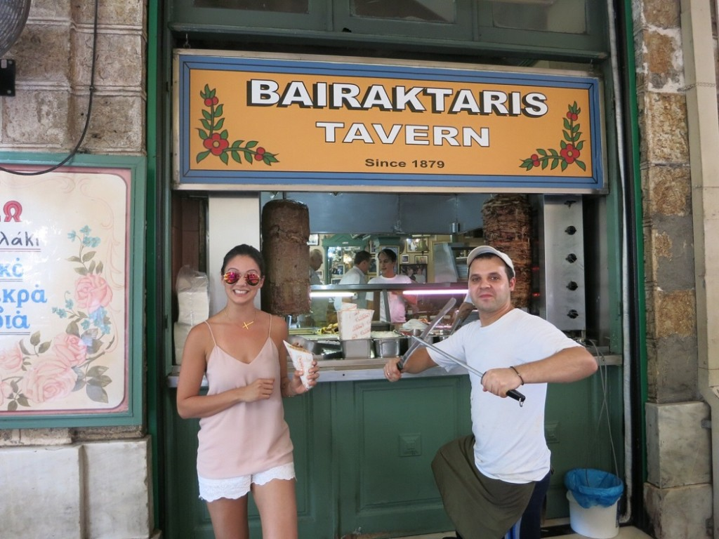 THE PERFECT CHEAP EAT IN ATHENS