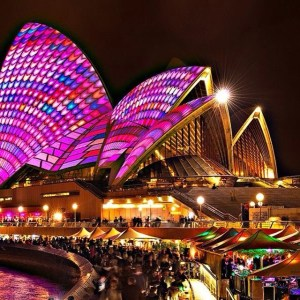Vivid Festival Sydney Australia