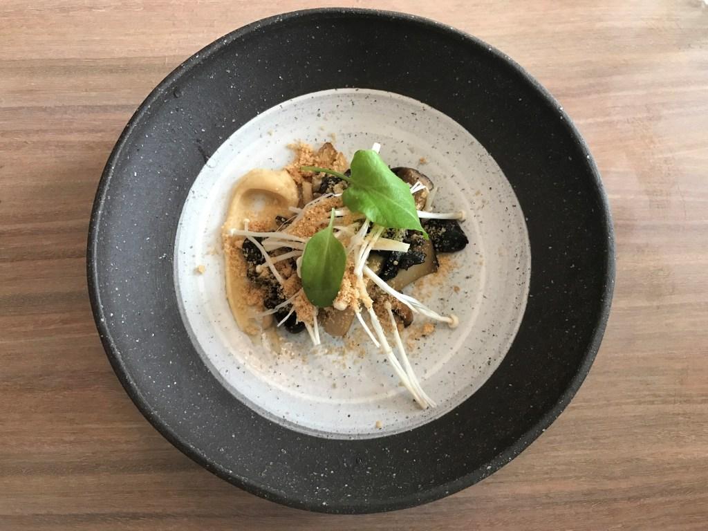 12-Micron Mushrooms, hazelnuts, sorrel