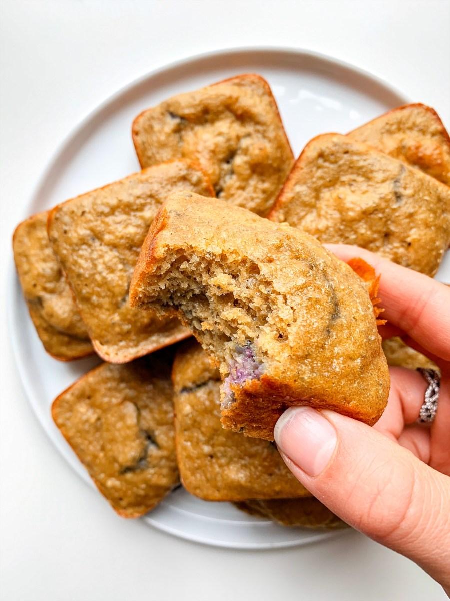 Gluten Free Lemon Blueberry Chia Muffins