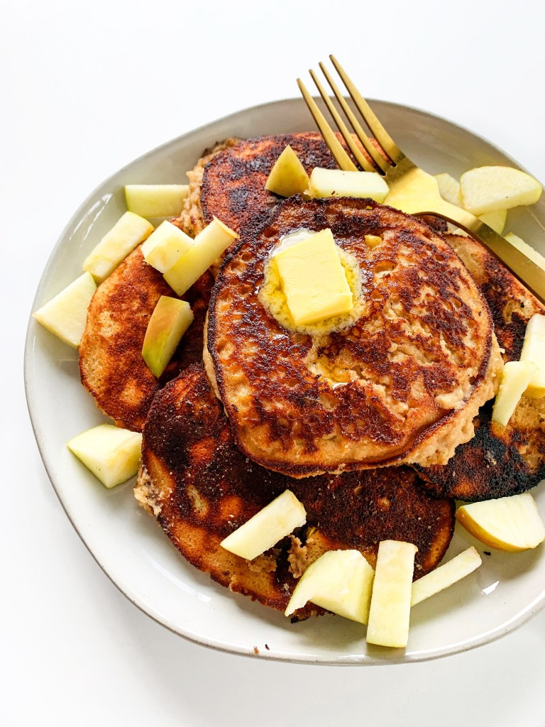 Gluten Free Apple Cinnamon Pancakes