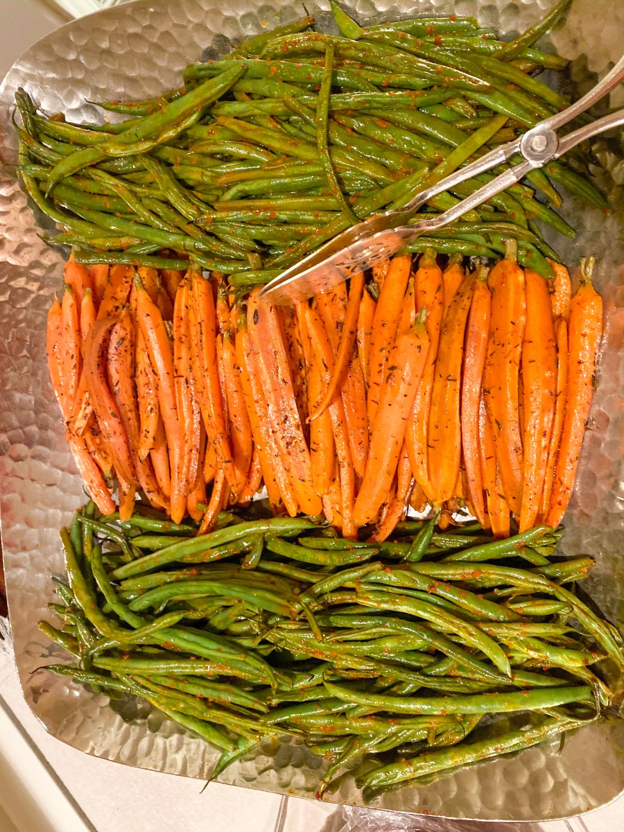 Mama's Green Beans and Carrots