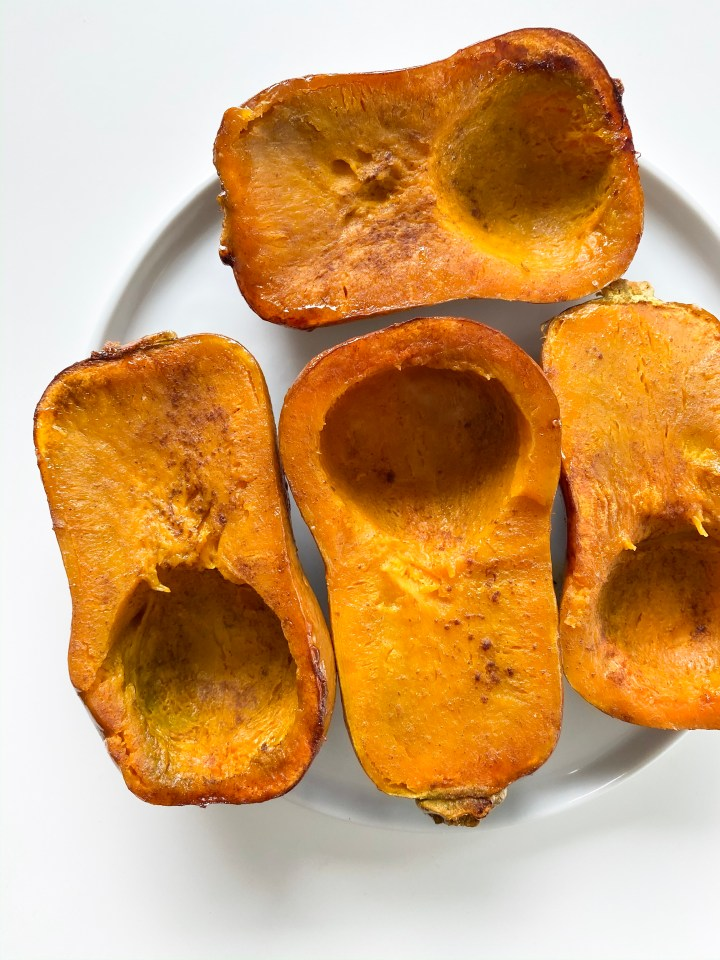 Roasted Cinnamon Honeynut Squash