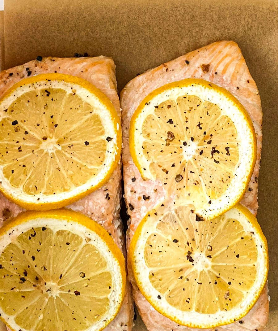 Easy Lemon Pepper Salmon
