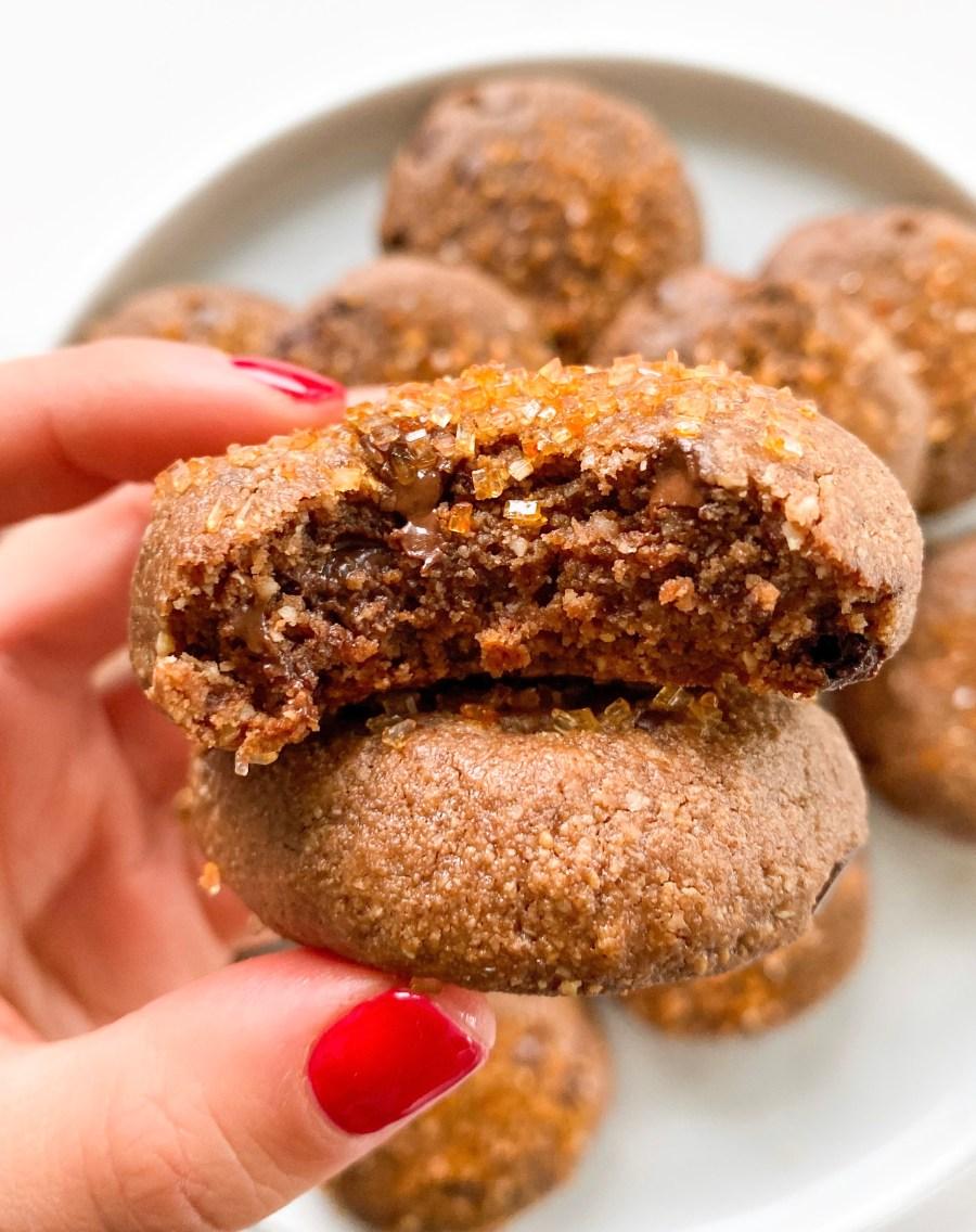 Gluten Free Vegan Double Chocolate Cookies