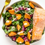 Kale Salmon Salad