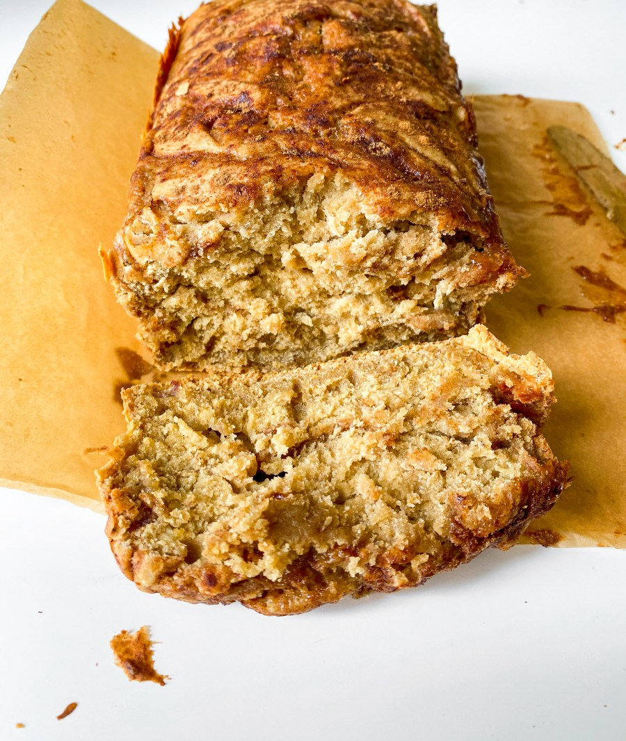 Pumpkin Honey Cinnamon Swirl Banana Bread