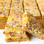 Easy Funfetti Blondies