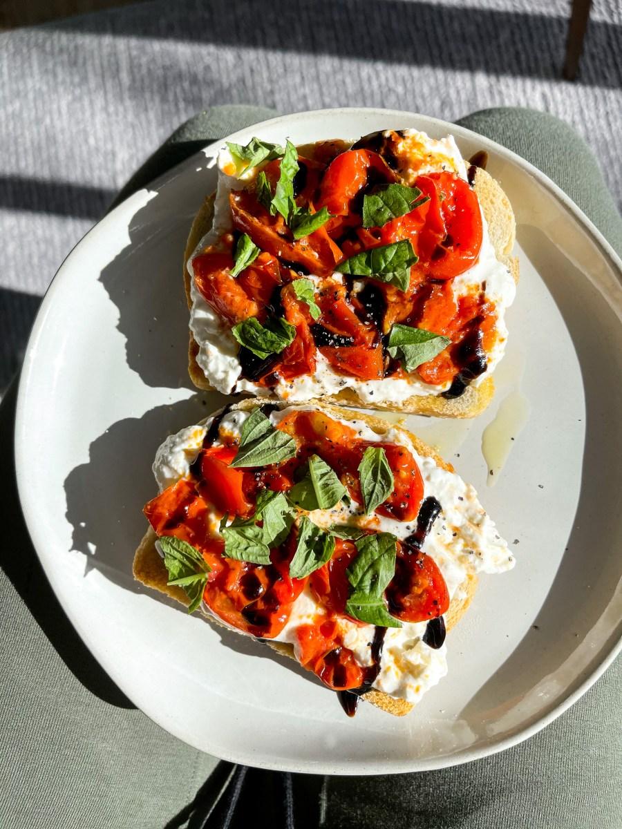 Sourdough Burrata Toast