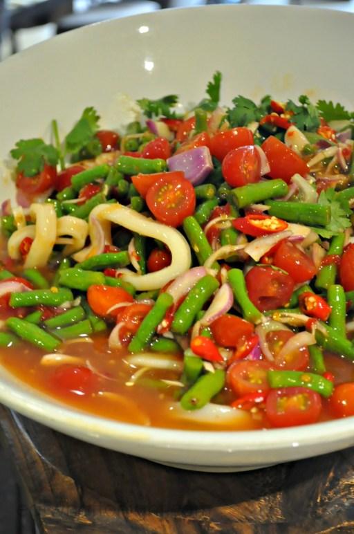 Squid and Yard Bean