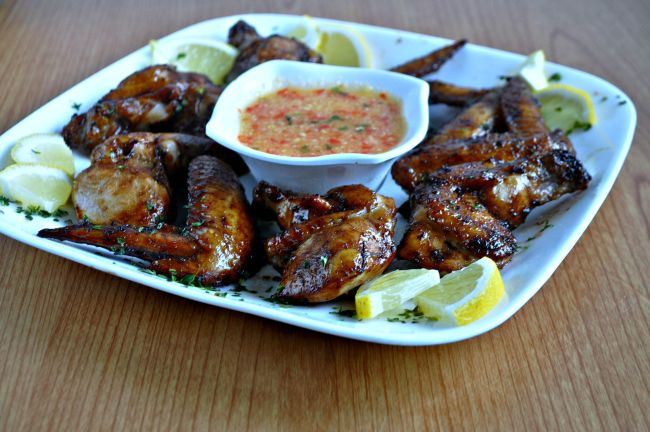 Chinese Style BBQ Grilled Chicken Wings_4