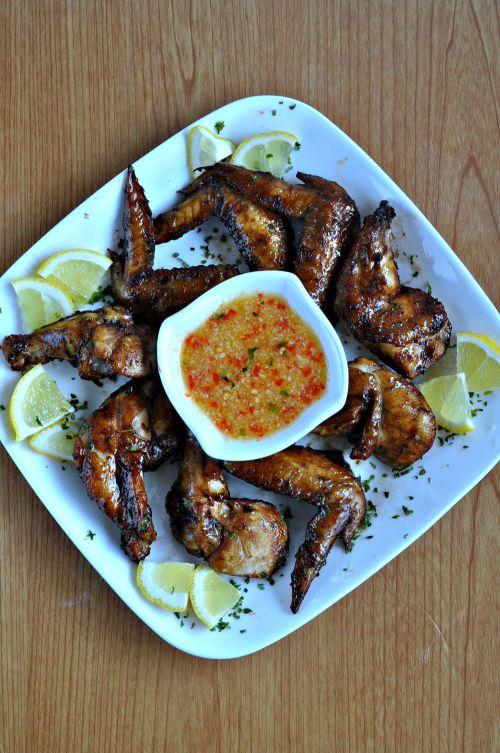 Chinese Style BBQ Grilled Chicken Wings_5