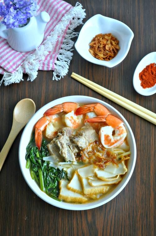 Hokkien Prawn Noodle Soup_8