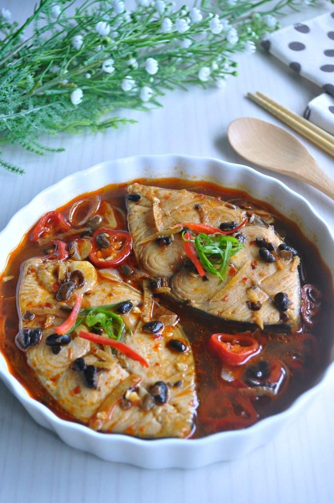 Braised Fish in Black Bean_4