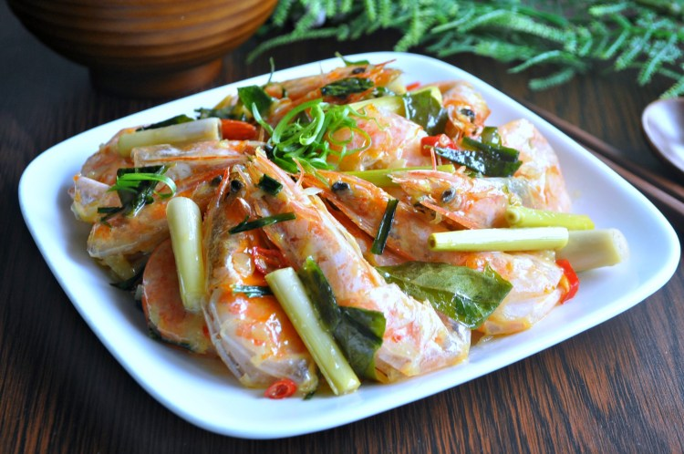 Lemongrass Butter Prawns_1