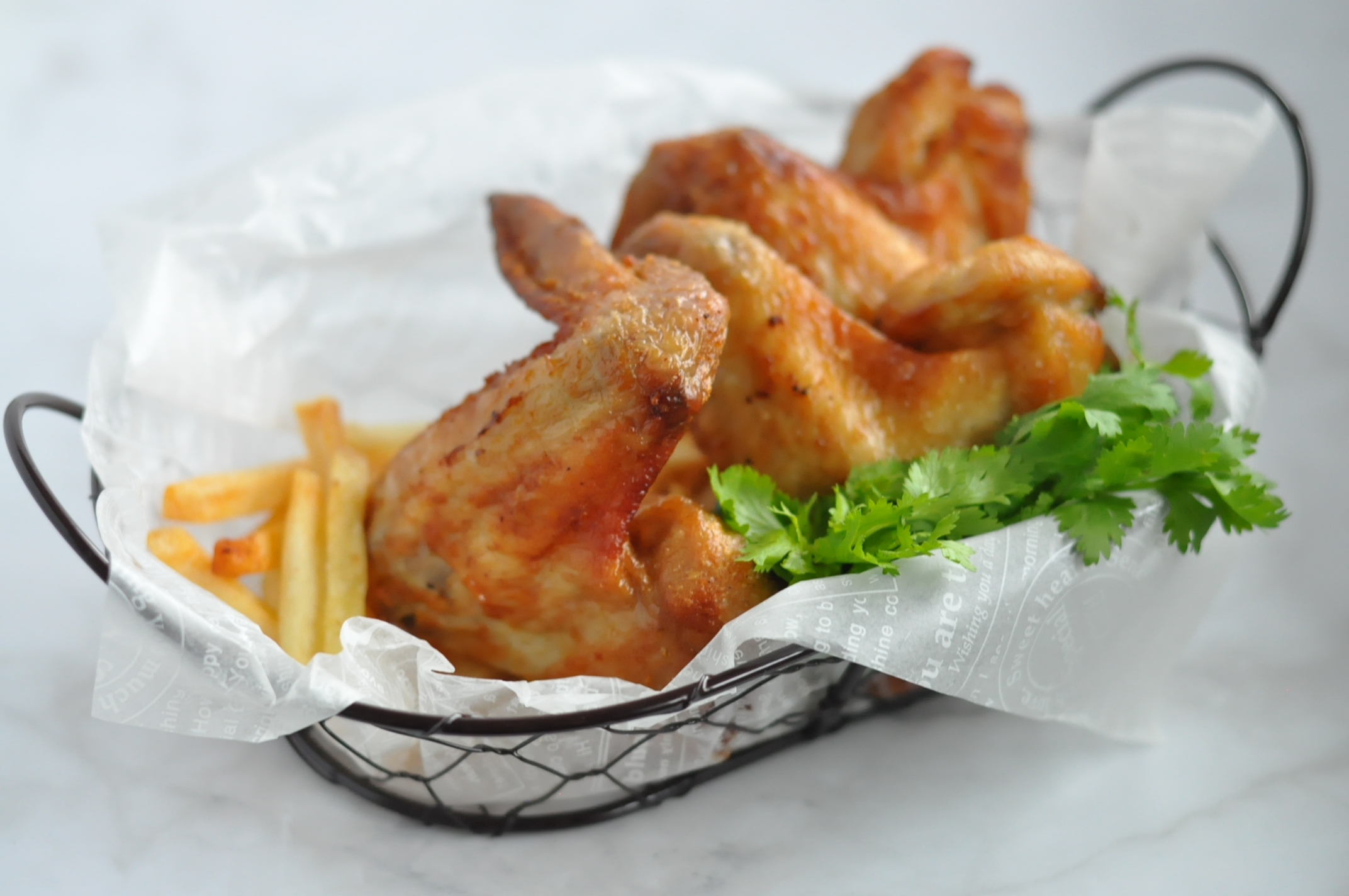 The Ultimate Chicken Wings Air Fried 香炸鸡翅 无油炸法 Eat