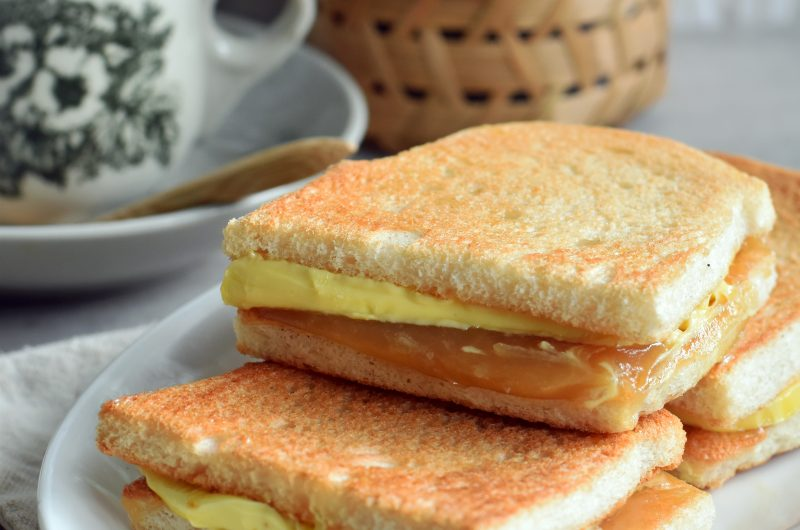 """""""Ah Kun"""" Style Kaya Butter Toasts"""