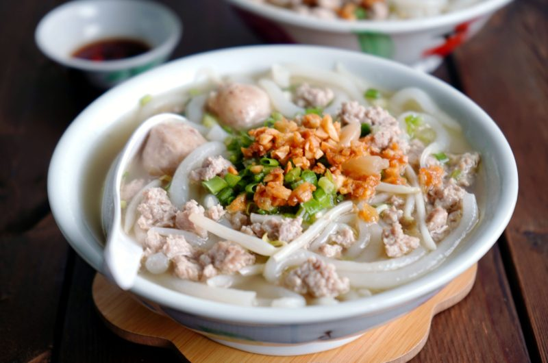 Old-school Style Mee Tai Bak Noodles Soup