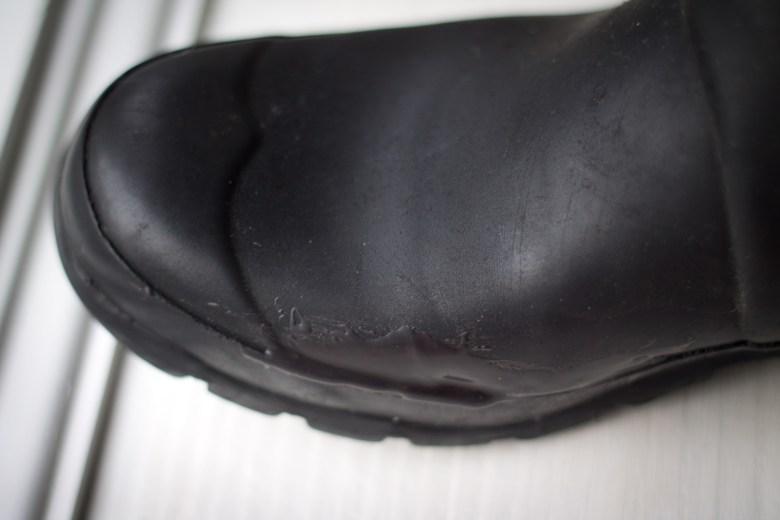 Hunter boot repair.