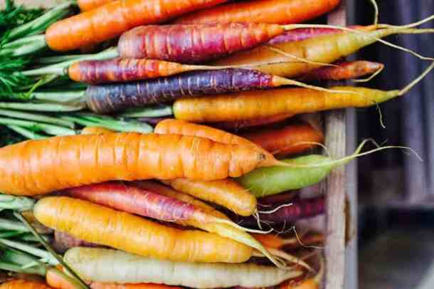 Carrots are a great food to support your liver.