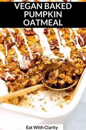 baked pumpkin oatmeal pin