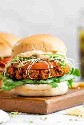 The Best Vegan Chickpea Burgers