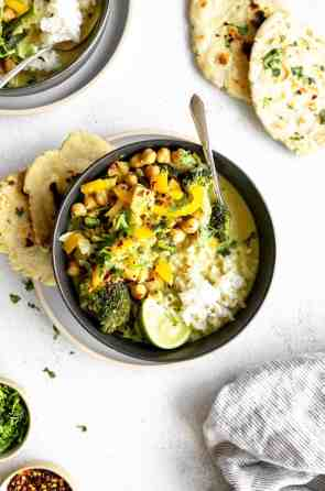 Vegan Thai Green Curry