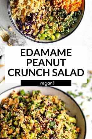 edamame crunch salad