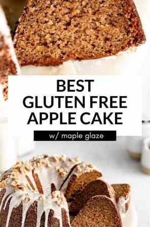 gluten free apple cake pin