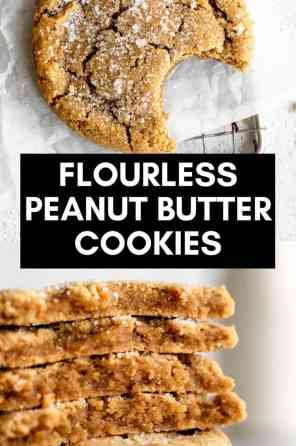 peanut butter cookies pin