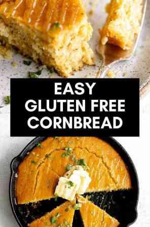 gluten free cornbread skillet