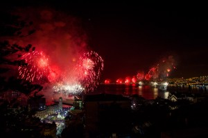 Valparaiso Chile New Year's Eve Fireworks | www.eatworktravel.com