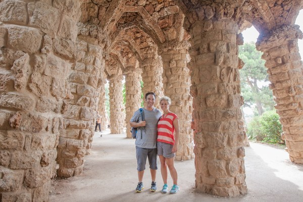 Barcelona, Spain is such a colorful city to explore! It's the perfect place for a fun couple's trip. Check out our top 6 activities during your 48 hours in the city. | www.eatworktravel.com The luxury, adventure travel couple!