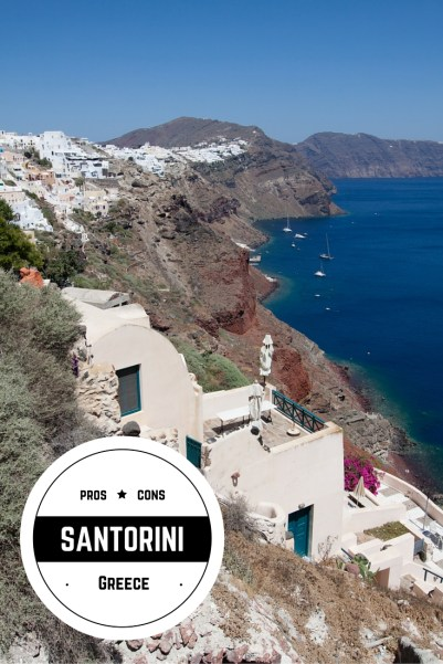 Pros & Cons of Santorini, Greece