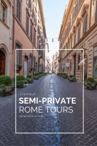 LivItaly Semi-Private Rome, Italy Tours