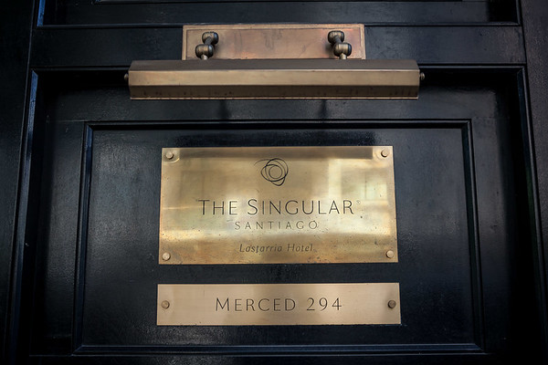 Singular Hotel Santiago Chile