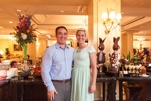 Recap of Easter Brunch at the Ritz Carlton in New Orleans, LA
