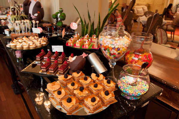 Dessert Buffet at Easter Brunch at the Ritz Carlton in New Orleans, LA