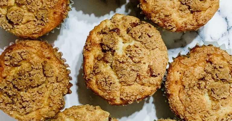 Gluten free cinnamon streusel muffin recipe.