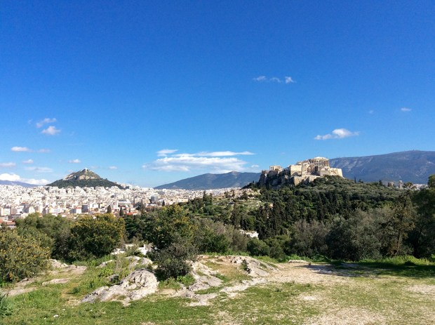 The Parthenon & Lycabettus hill, walking in Athens