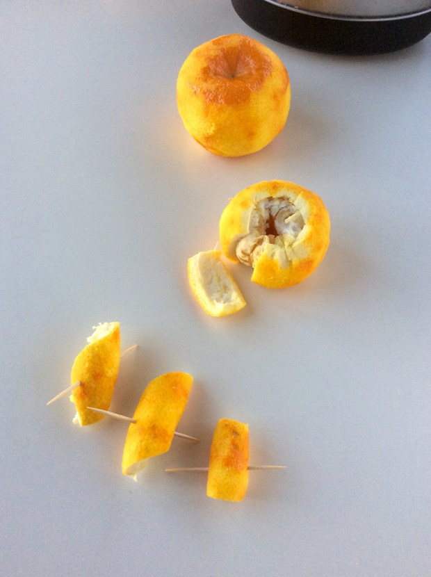 bitter orange preparation for preserve