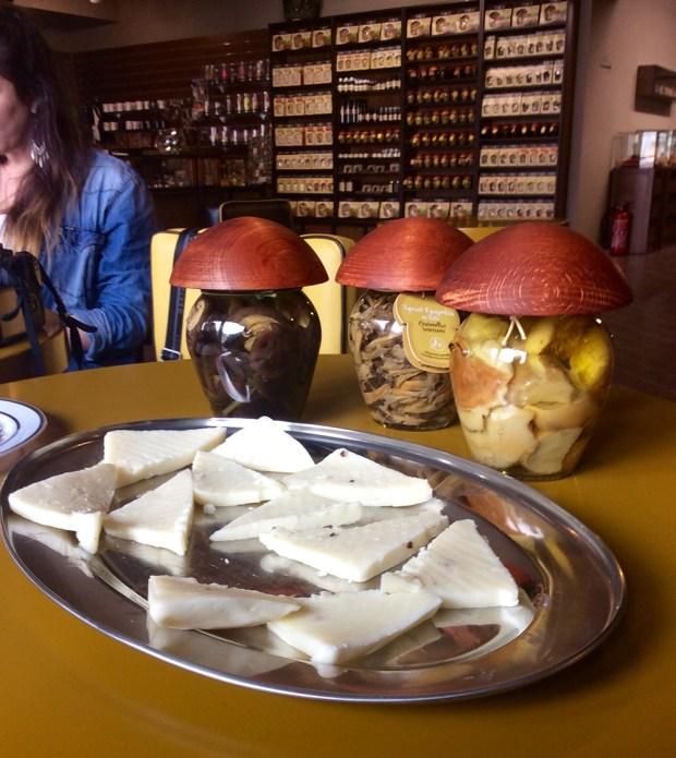 Meteora museum - mushroom products