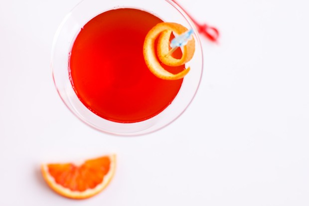 Campari blood orange jelly @eatyourselfgreek