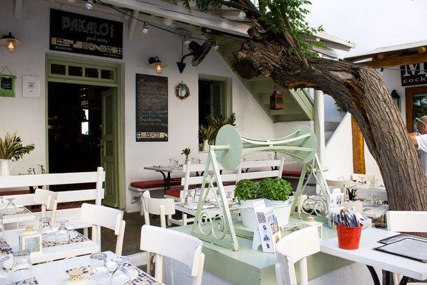 bakalo restaurant Mykonos @eatyourselfgreek