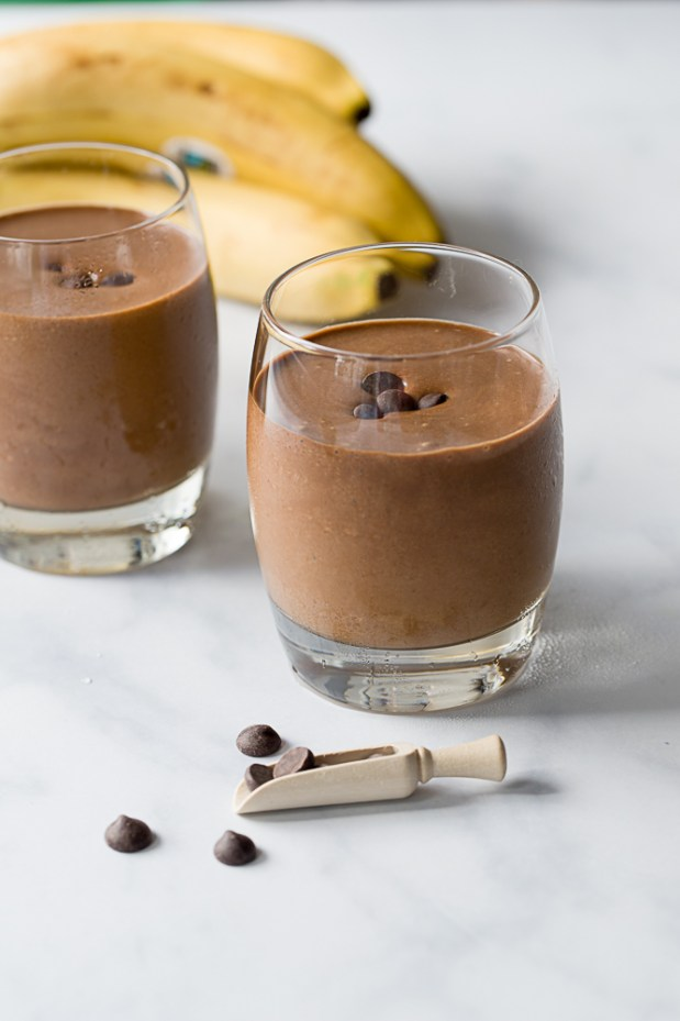 espresso chocolate smoothie @eatyourselfgreek