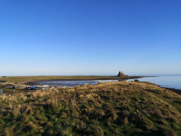 Lindisfarne castle @eugeniamakrogianneli